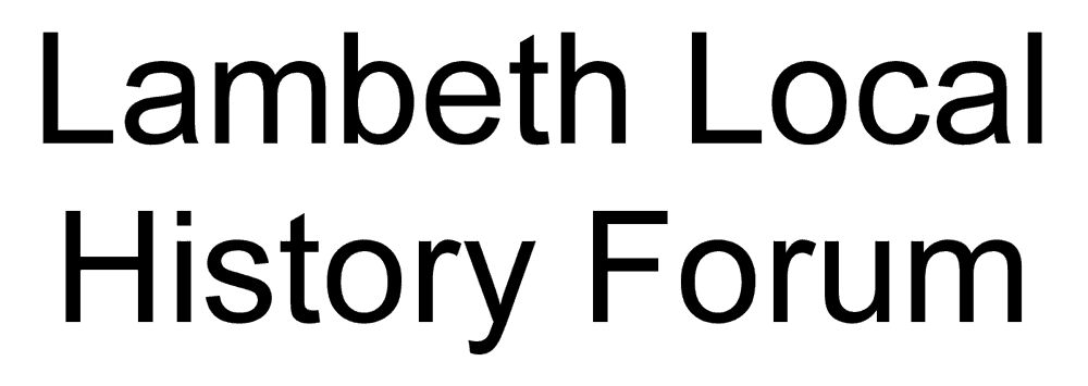 Lambeth Local History Forum